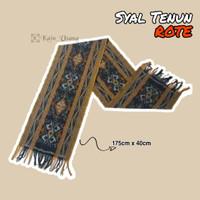 Kain_Usang | Syal Tenun Rote Warna Alam - Scarf Tenun Ikat Toraja