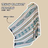 Kain_Usang | Tenun Blanket Halusan AC1 | Kain Tenun Etnik | Tenun Ikat