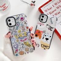 Space & Dog Antiknock Case iPhone 7+/8+/X/Xs/Xs Max/Xr iPhone 11/11 Pr