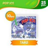 Pop Ice Es Blender Rasa Taro (1 renceng isi 10 sachet)