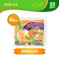 Pop Ice Es Blender Rasa Mangga (1 renceng isi 10 sachet)
