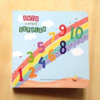 Boardbook Buku Cerita Anak Islami Satu Sampai Sepuluh