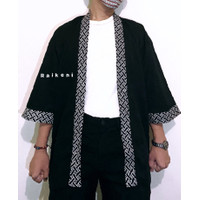 RAIKENI Kimono Batik | Kimono Jepang | Jaket Batik | Cardigan Batik