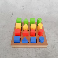 Mainan Edukasi Anak Color Block 16 (Free packing kardus+bubble wrap)