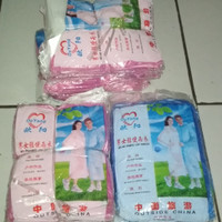 Jas hujan plastik ponco disposable raincoat