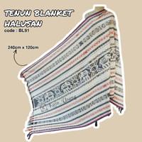 Kain_Usang | Tenun Blanket Halusan BL91| Kain Tenun Etnik | Tenun Ikat