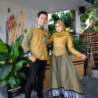 baju couple muslim fashion cople batik keluarga murah terlaris