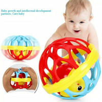 Mainan Bola Krincingan Anak Kerincingan Rattle Ball Teether Bayi