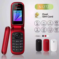VK Hp strawberry s1272 handphone flip kamera bluetooth fm radio mp3