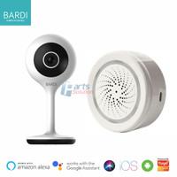 Smart Home Basic Securuty Pack BARDI IP Cam CCTV + Smart Siren Alarm