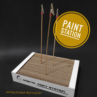 Paint station / stand paint clip ORW