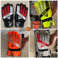 Sarung Tangan Kiper Adidas Tulang Import Glove Keeper Adidas Import - Hitam, 8