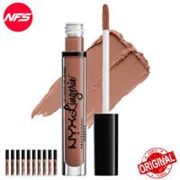 NYX Makeup Lip Lingerie Liquid Matte Nude Lipstick/Cream Original
