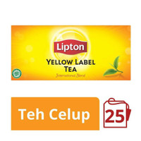 LIPTON YELLOW LABEL TEA 25 KANTONG