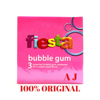 Kondom Fiesta Bubble Gum - Isi 3pcs