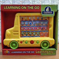 Mainan Anak Learning on the go Bus Edukasi Anak
