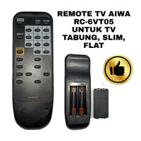 REMOTE TV AIWA RC-6VT05 UNTUK TV TABUNG SLIM FLAT