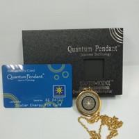 Kalung Kesehatan Quantum Pendant Motif Gold