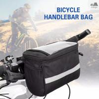 Tas Sepeda Lipat Front Bag Universal Kanvas Waterproof Import