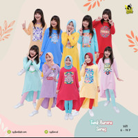 Setelan Tunik anak set legging Aurora Tunic by Coolbee
