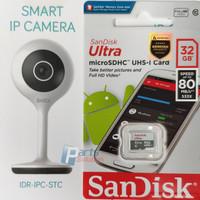 Paket Promo BARDI IP Cam CCTV Camera 1080p + Memory Sandisk Ultra 32GB