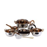 OXONE Eco Cookware Set 12+2 Pcs (OX-933)