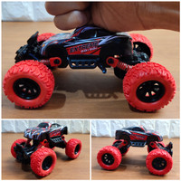 Diecast Offroad Stunt Car Pullback Action