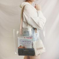 Large PVC Tote Bag Custom Nama