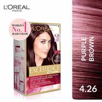 l'oreal Paris Excellence Creme Hair Color 4.26 / pewarna rambut