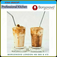 Gelas Borgonovo London HB Clear Glass Made in italy (6 Pieces) - 380 ML