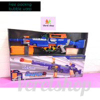 Sniper Soft Bullet Gun/ Pistol Mainan Mirip Nerf Sniper Auto Peluru Ks