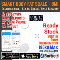Timbangan Badan Digital Smart Body Fat BMI Bluetooth