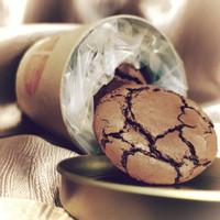 Fudgy Brownie Cookies cocoKAKA