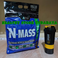 ANS NMASS 15 LBS BPOM N MASS PROTEIN GAINER 15LB SUSU FITNESS GYM