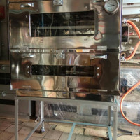 oven gas stainless 75x55x70