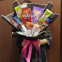 Bouquet snack | buket snack | bouquet chocolate | buket coklat
