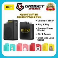 Speaker Xiaomi MiFa H1 Portable Audio Stereo Plug & Play Original - Hitam