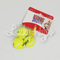 Mainan Anjing/ Dog Toys Kong Squeakair Tennis Ball XSmall isi 3pc AST5