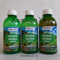 Nutrisi Herbal Probiotik Silver Gold Platinum - Silver