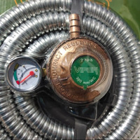 Kepala Gas Selang Paket murah Regulator Gas Selang Paket Bagus