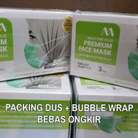 Masker Hijab Medis setara Sensi Multi One Plus 3 ply 50 pcs