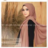pashmina soft pad antem hijab instan fashion muslim