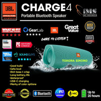 JBL Charge 4 / Charge4 Portable Waterproof Bluetooth Speaker Original - Teal