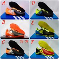 Sepatu Anak,Sepatu Futsal Anak Adidas X techfit 33-37
