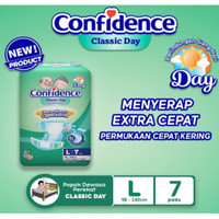 L7 Pampers Confidence Classic Day Popok Perekat Dewasa L7 Pempers