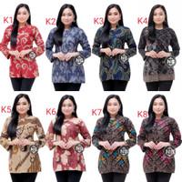 NEW ARRIVAL Baju Batik Wanita Terbaru | Atasan Blouse Batik Modern