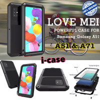 Samsung A51 / A71 Case Armor lovemei casing cover samsung A 71 A 51