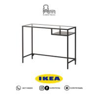 Meja Laptop IKEA Minimalis/ Meja Belajar Kaca/ Meja Tulis/ Meja Kantor