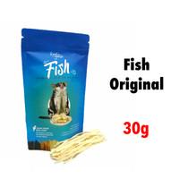 FISH SNACK 30gr FISH SNACK SUGAR GLIDER FISH SNACK HEWAN FISH THAILAND