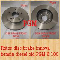 Disc brake rotor piringan rem piring cakram depan Innova bensin diesel
